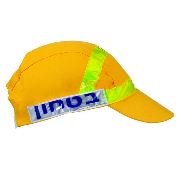 כובע בטחון צהוב
