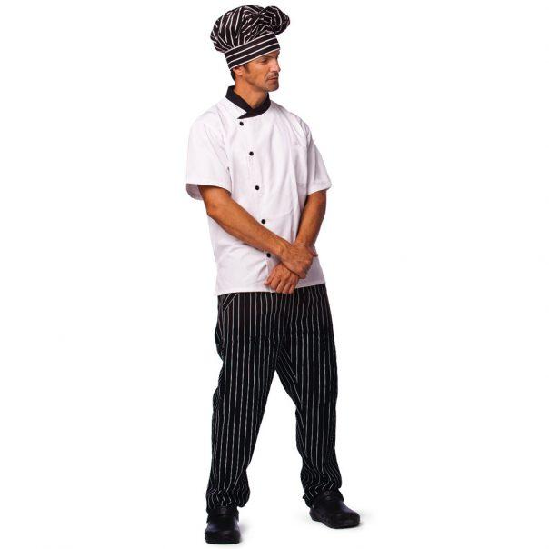 מכנס גומי פסים