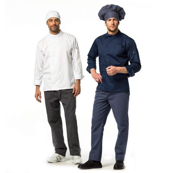 מכנסי שף עיצוב פסים