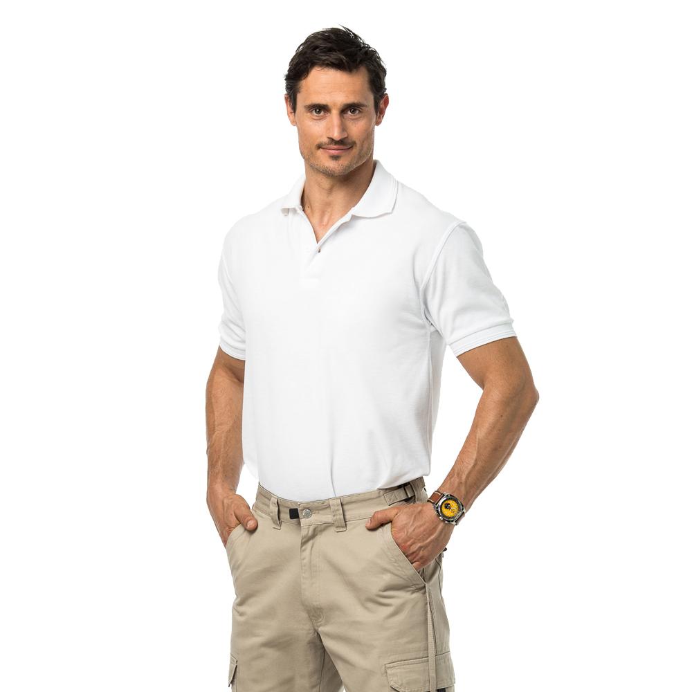 חולצת לקוסט 100% כותנה שרוול קצר בלי כיס