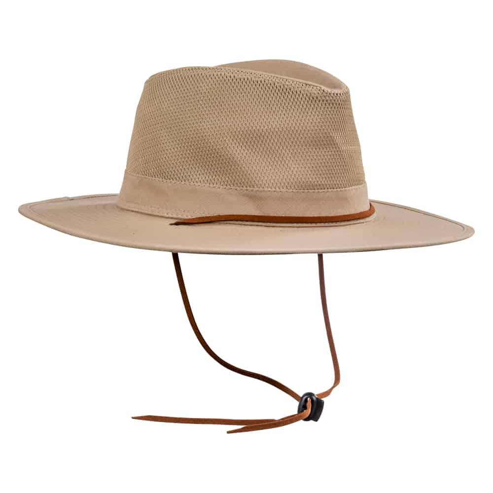כובע אוסטרלי חצי מאוורר אבן