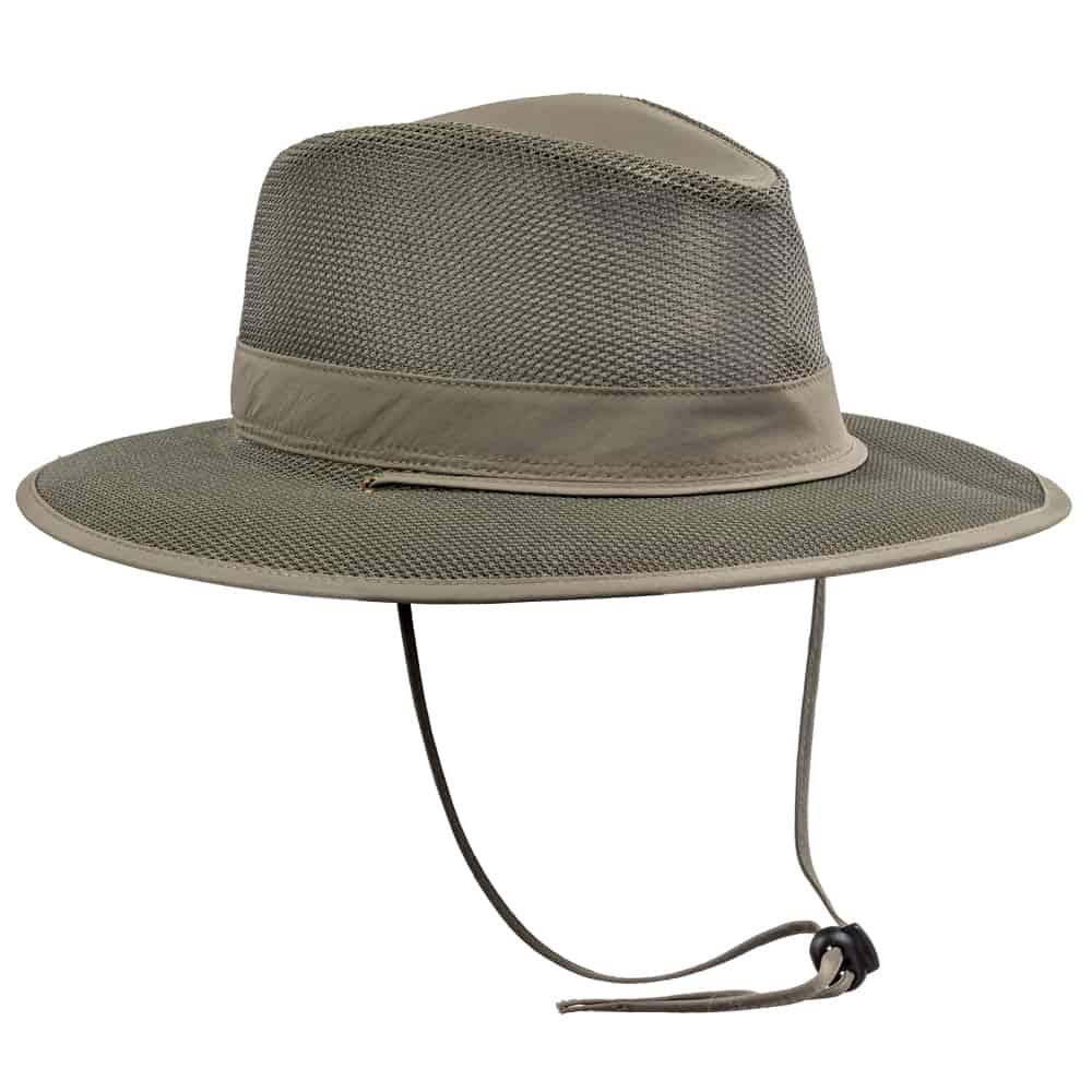 כובע אוסטרלי רשת ירוק זית