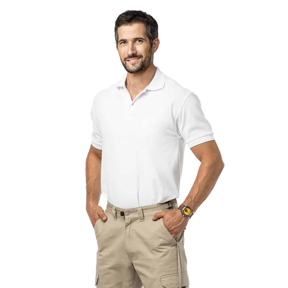 חולצת לקוסט שרוול קצר בלי כיס