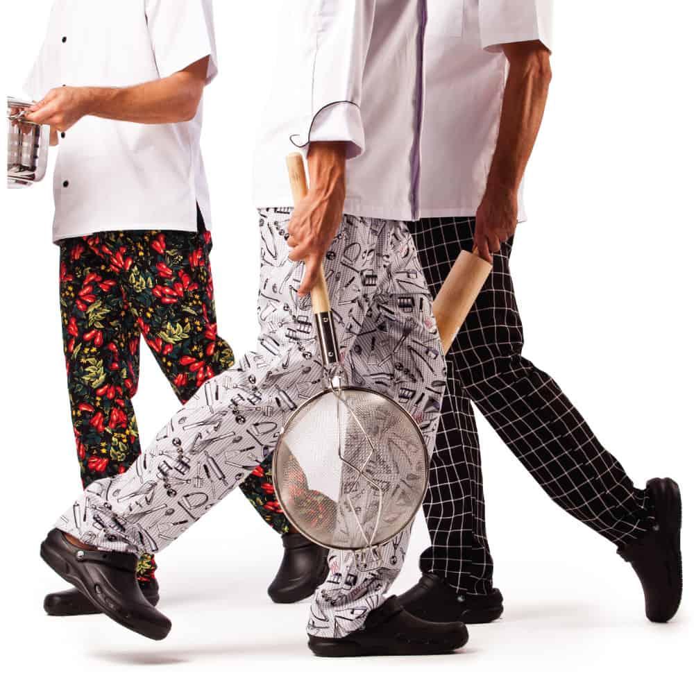 מכנסי שף | מכנסי טבחים